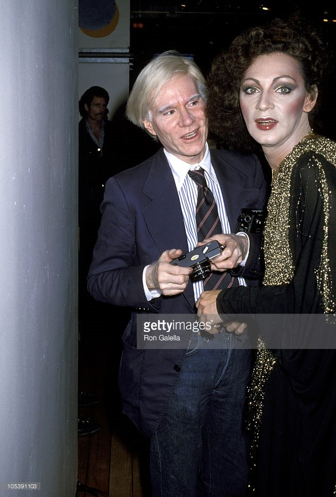 Andy Warhol and Holly in NY