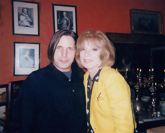 Joe Dallesandro and Holly Woodlawn