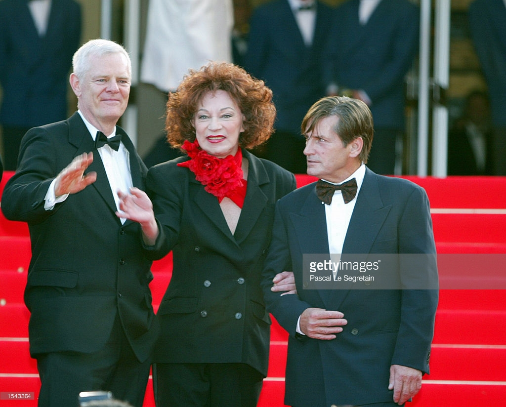 Paul Morrisey, Holly Woodlan and Joe Dallesandro in Cannes, France