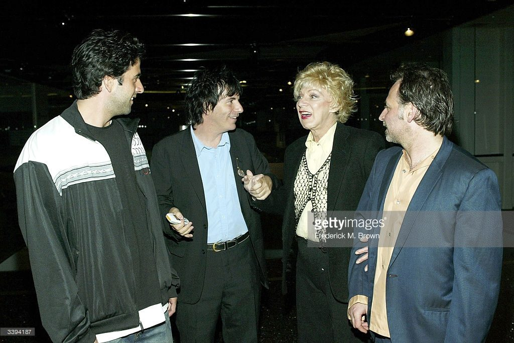 Troy Garity, director Allan Mindel, actor Holly Woodlawn and producer Jeff Kirshbaum