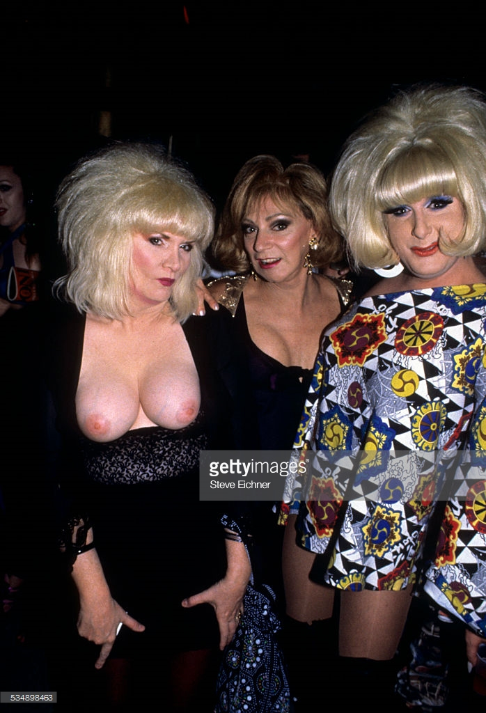 Jane County and Holly and Lady Bunny.