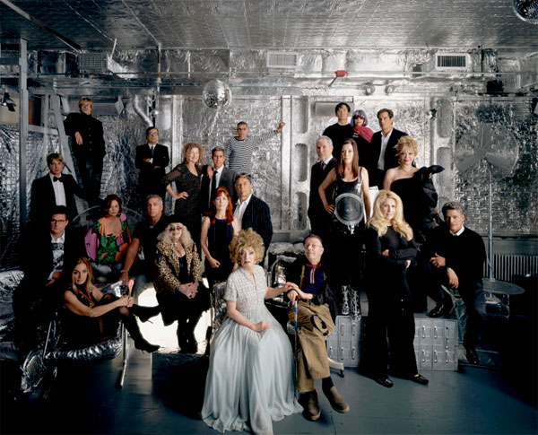 The Andy Warhol 2006 NYC Factory Reunion photographed by Todd Eberle