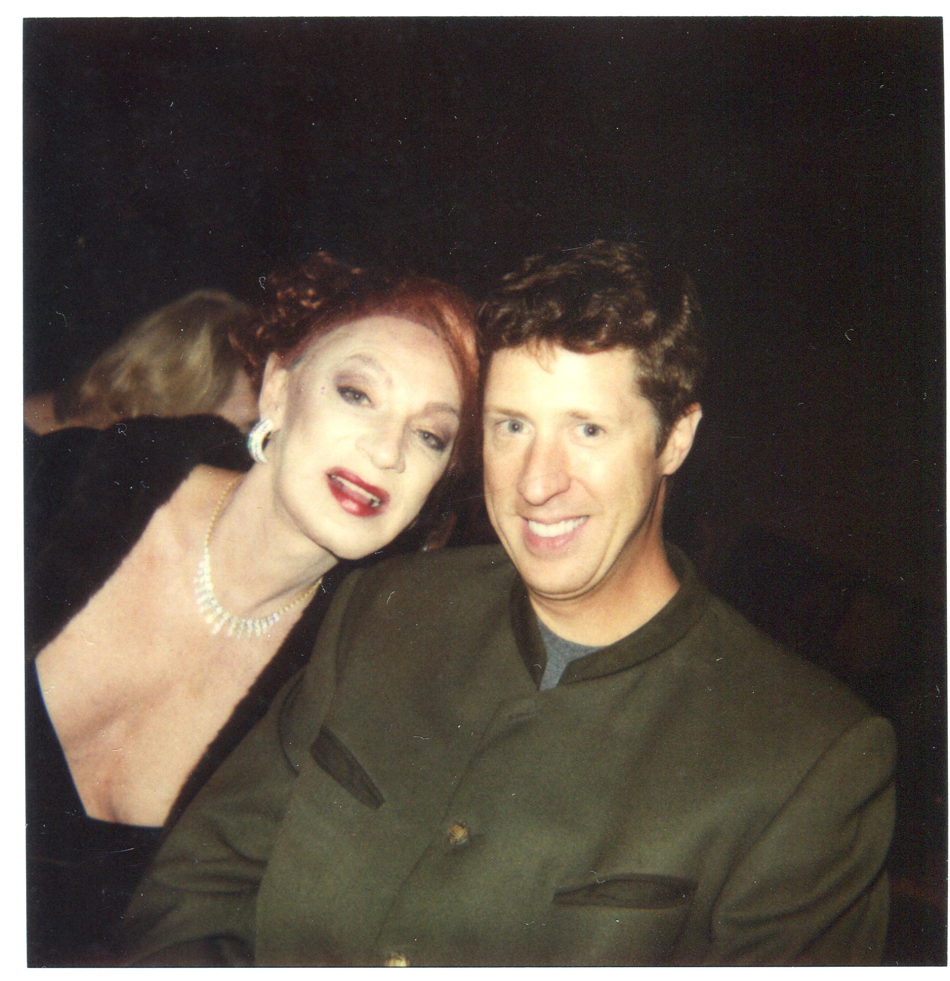 Holly and dear friend Brian Hamilton in Phoenix