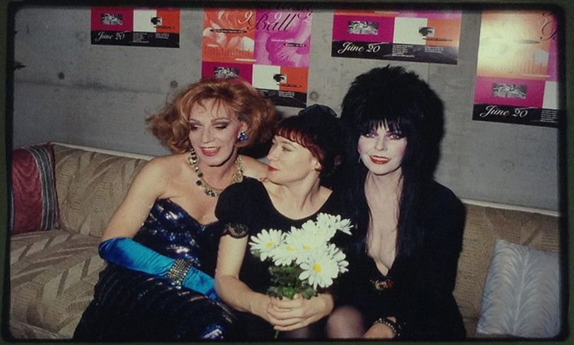 Holly, Ann Magnusson and Elvira