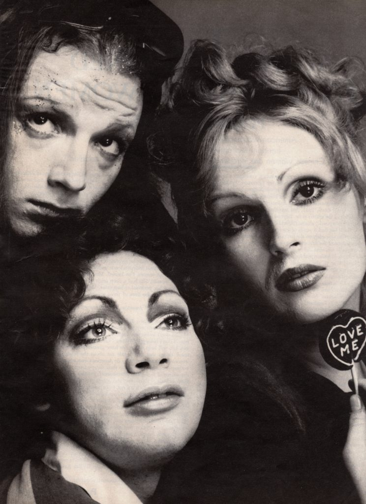 Jackie Curtis, Holly Woodlawn, Candy Darling